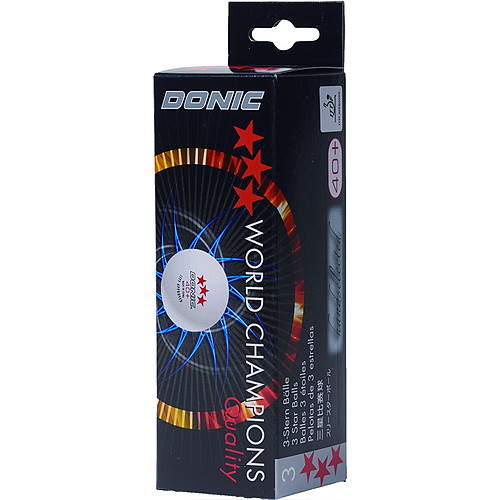 DONIC3スターボール40+(3個入)